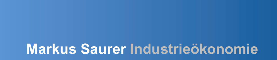 Markus Saurer Industrieökonomie